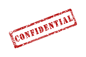 Keeping DBS Information Confidential